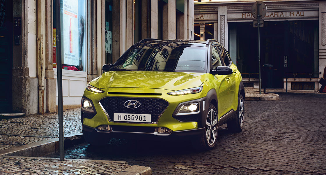 Hyundai Kona, Kona Electric, Kona Hybrid, HYundai Hybrid Car, Hyundai Electric car, Hyundai showroom