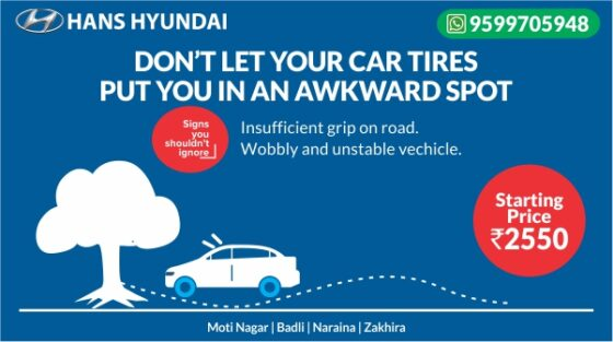 specification of car tyres