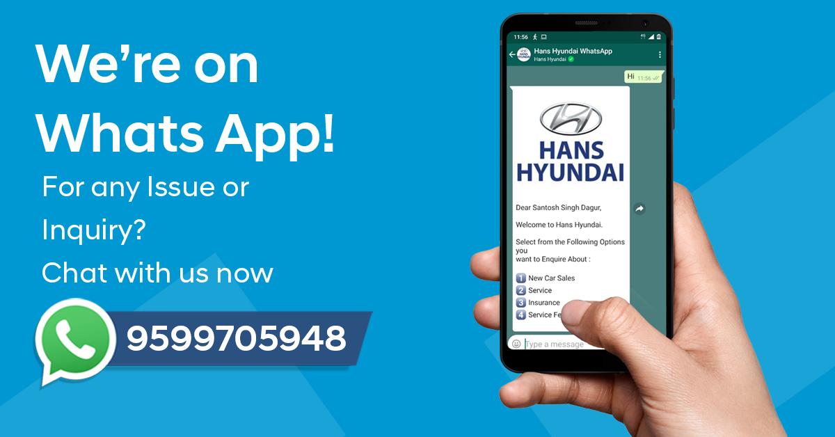 Hyundai WhatsApp Support