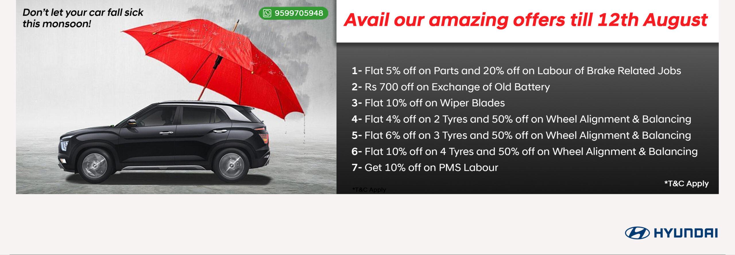 Monsoon Car Service offers